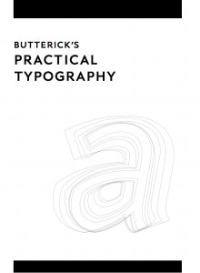 Practical Typography cover