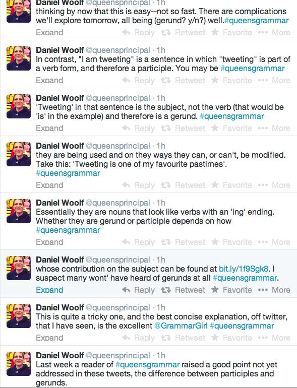 Grammar tweets, other links