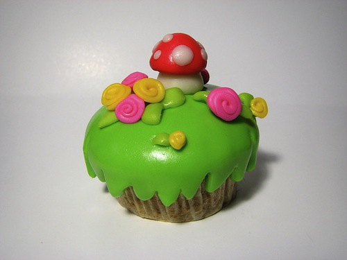 Simperial Spring Cupcakes