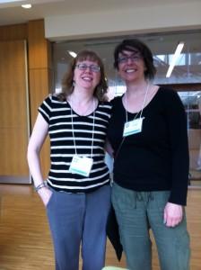 Erin Brenner & Adrienne Montgomerie at EAC2014