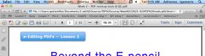screenshot of PDF open in ARxi internet browser tab