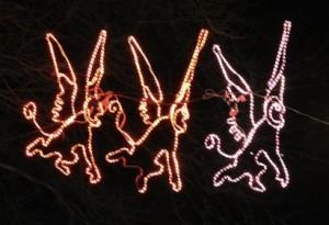 flying monkey lights