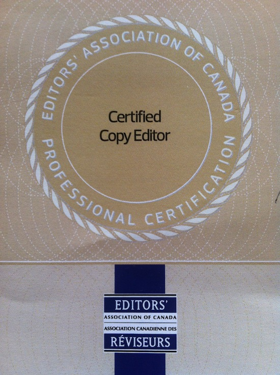 6 New Honorary Certified Professional Editors
