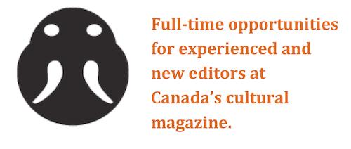 Multi-platform Publishing Jobs at The Walrus