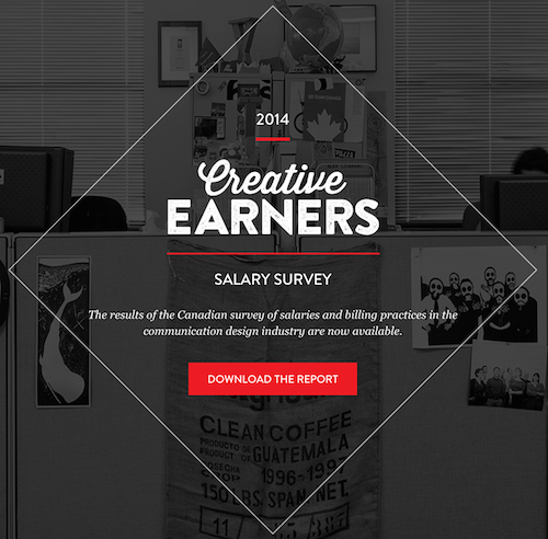 Creative Earners Salary Survey Results