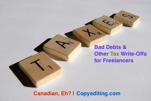 Bad Debts, and Other Tax Write-Offs