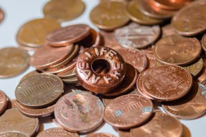 copper life saver in pennies