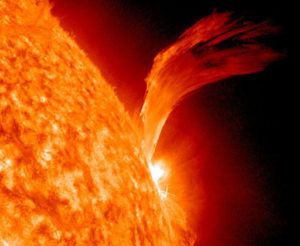 solar flare C-3 from 1105 NASA CC BY-2