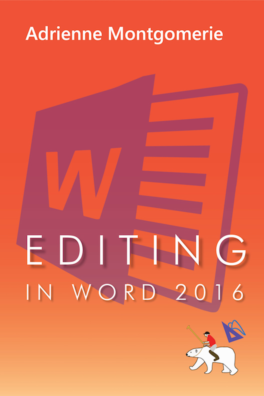 Editing in Word 2016 (cover)