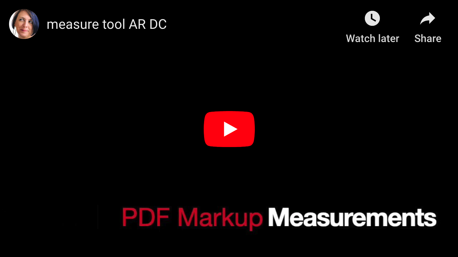 Measure Elements of a PDF