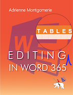 Editing Tables in Word 365