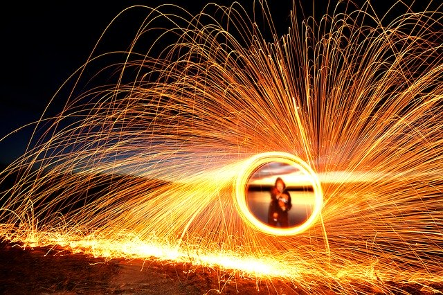 sparks fly when you speed up editing